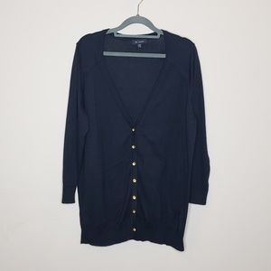 The Limited 100% Lightweight Button Front Cardigan